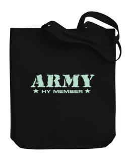 Army Hy Member Canvas Tote Bag
