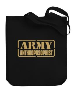 Army Anthroposophist Canvas Tote Bag