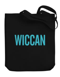 Wiccan - Simple Canvas Tote Bag