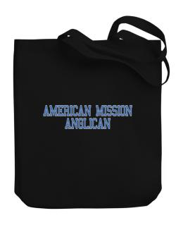 American Mission Anglican - Simple Athletic Canvas Tote Bag