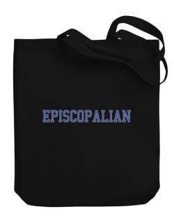Episcopalian - Simple Athletic Canvas Tote Bag