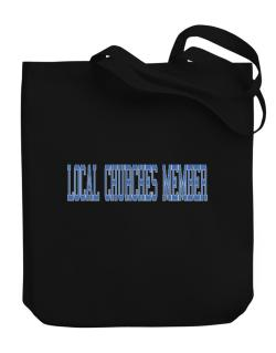 Local Churches Member - Simple Athletic Canvas Tote Bag