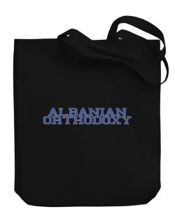 Albanian Orthodoxy - Simple Athletic Canvas Tote Bag