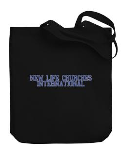 New Life Churches International - Simple Athletic Canvas Tote Bag