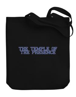 The Temple Of The Presence - Simple Athletic Canvas Tote Bag