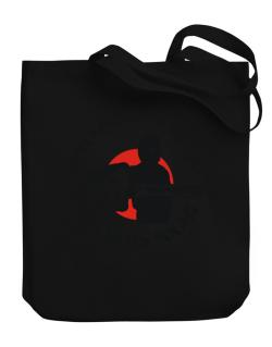 Abecedarian By Day, Ninja By Night Canvas Tote Bag