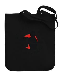 Wiccan By Day, Ninja By Night Canvas Tote Bag