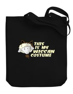 This Is My Wiccan Costume Canvas Tote Bag