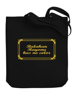Balakan Rayonu Has No Color Canvas Tote Bag
