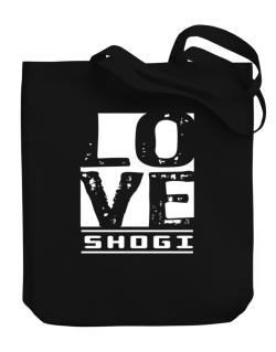 Love Shogi Canvas Tote Bag