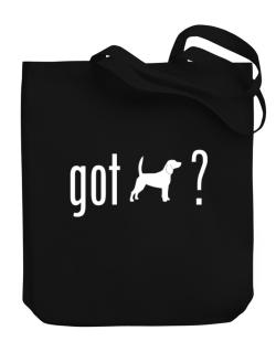 Got Beagle ? Canvas Tote Bag