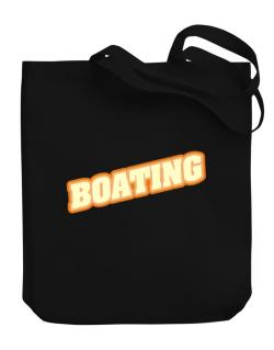 Boating Canvas Tote Bag