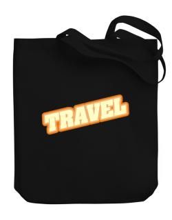 Travel Canvas Tote Bag