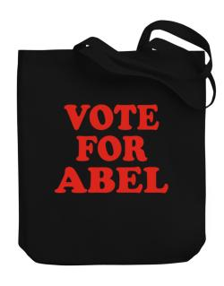 Vote For Abel Canvas Tote Bag