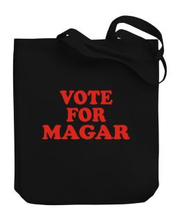 Vote For Magar Canvas Tote Bag