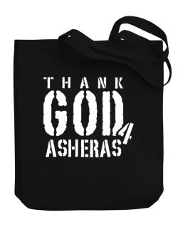 Thank God For Asheras Canvas Tote Bag