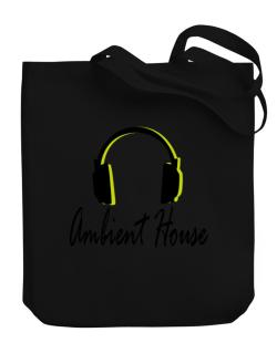 Listen Ambient House Canvas Tote Bag