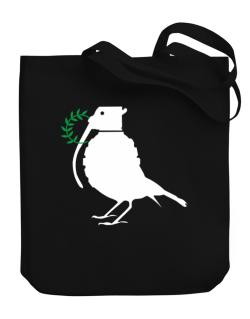 Dove grenade  Canvas Tote Bag