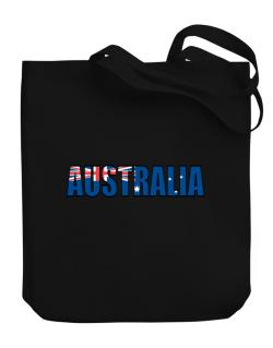 Australia Flag  Canvas Tote Bag