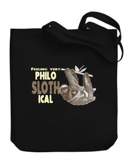 Bolso de Philosophical Sloth
