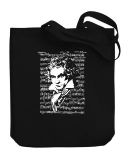 Beethoven symphony Canvas Tote Bag