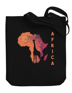 Africa map cool design Canvas Tote Bag