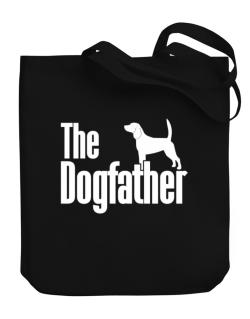 The dogfather Beagle Canvas Tote Bag