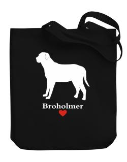 Broholmer love Canvas Tote Bag