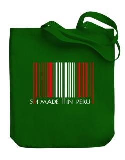 Made in Peru cool design  Canvas Tote Bag