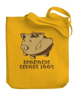 Economic Report 2009 Canvas Tote Bag
