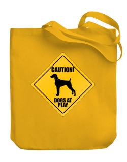 "Bolsos de "" Dogs at play Weimaraner """