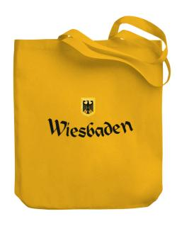 WIesbaden Germany Canvas Tote Bag