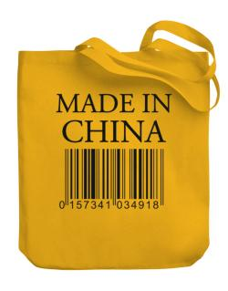 Made in China Canvas Tote Bag
