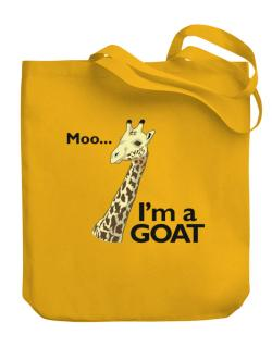 Confused giraffe Canvas Tote Bag