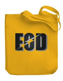 EOD explosive ordinance disposal Canvas Tote Bag