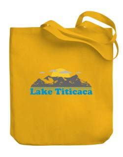Lake Titicaca  Canvas Tote Bag