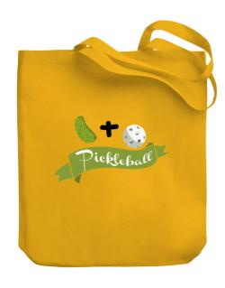 Bolso de Pickle plus ball equals pickleball