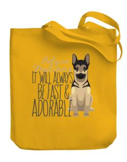 Bolso de It will always be fast & adorable Belgian malinois