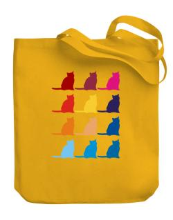 Colorful Russian Canvas Tote Bag