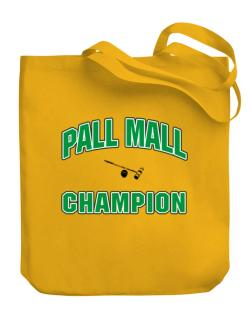 Pall Mall champion Canvas Tote Bag