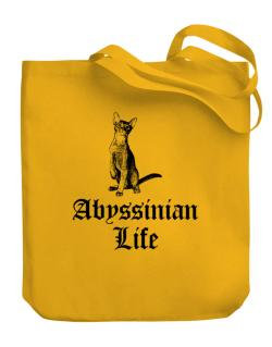 Abyssinian life Canvas Tote Bag
