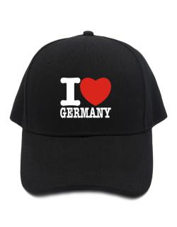 Gorra de I Love Germany