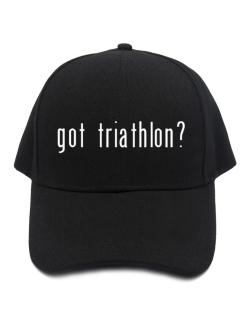 Got Triathlon? Baseball Cap