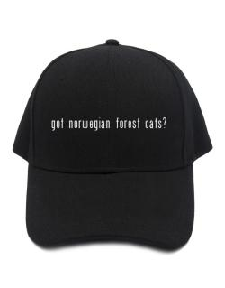 Got Norwegian Forest Cats? Baseball Cap