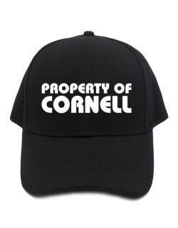 "Gorra de "" Property of Cornell """