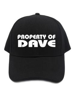 """ Property of Dave "" Baseball Cap"
