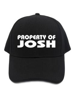 "Gorra de "" Property of Josh """