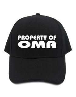 """ Property of Oma "" Baseball Cap"