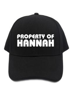 Gorra de Property Of Hannah