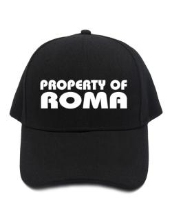 Gorra de Property Of Roma